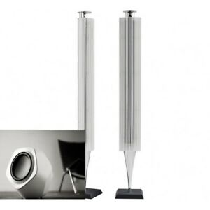 bang olufsen b o beolab 18 with white finish lamella. Black Bedroom Furniture Sets. Home Design Ideas