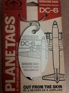 Small-Combo-Douglas-DC-6-American-Airlines-Plane-Tag-Planetags-Free-Ship