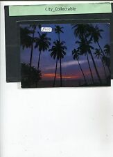 P027 # MALAYSIA PICTURE POST CARD * COCONUT TREES
