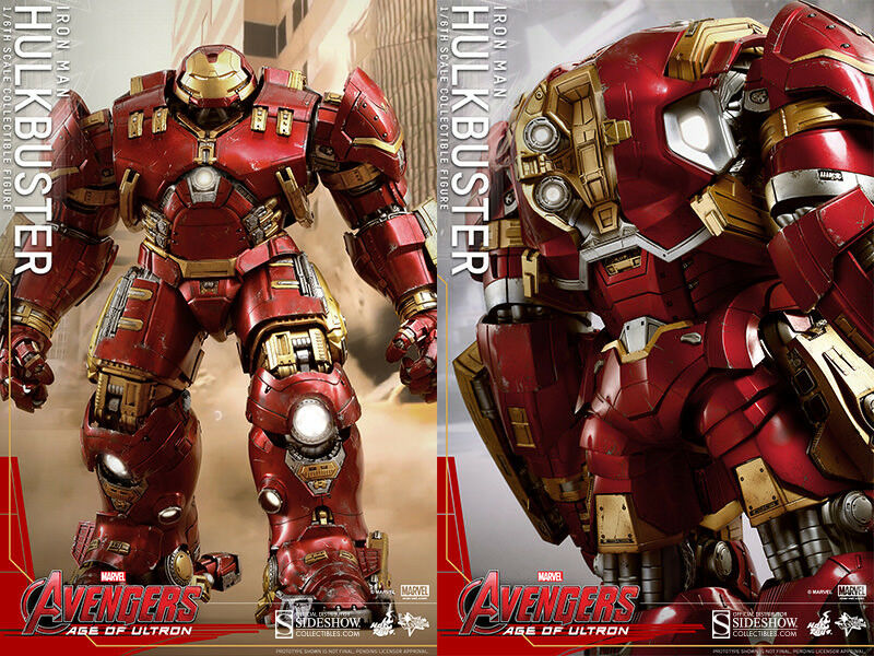 Hot Toys Marvel Avengers Age of Ultron Iron Man Hulkbuster 1/6 Figure Sealed