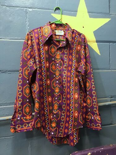 Vintage 70s Mens Marlboro Shirt