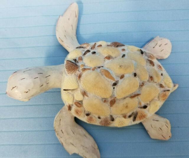 Sea Ocean Turtle Tortoises Swimming Figurine Statue Resin 7