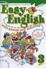 Easy English 3. with games and activities von Fosca Montagna und Lorenza Balzaretti (2009, Kunststoffeinband)