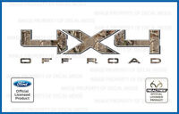 09<-->14 Ford 4x4 Off Road Realtree Camo Decals Stickers Ap F150 F250 Super Duty
