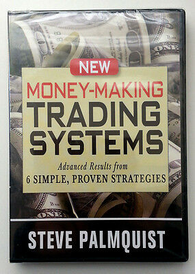 *New* NEW MONEY-MAKING TRADING SYSTEMS by Steve Palmquist *Stock Trading DVD*