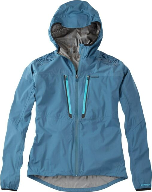 Madison Flux Super Light Waterproof Jacket Small Blue