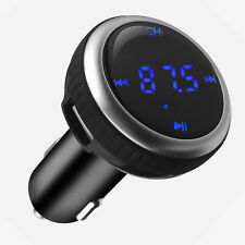 AGPtek Wireless Bluetooth FM Transmitter Radio Adapter Car Kit SD Slot Remote