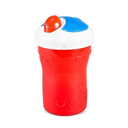BooginHead SippiSnack Cup with Snack Holder Red//Blue