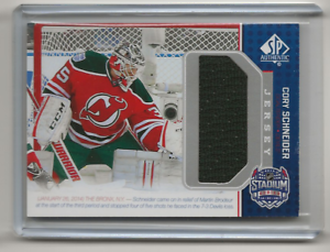 14-15 2014-15 SP GAME USED CORY SCHNEIDER STADIUM SERIES JERSEY SS ... acf288f5d