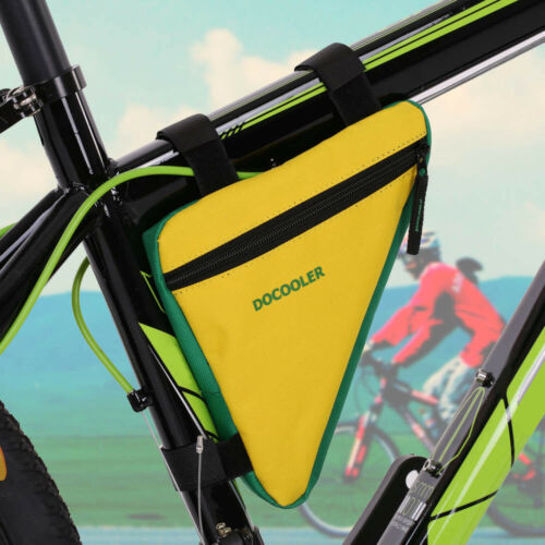 Bike Triangle Bag Waterproof Cycling Bicycle Front Tube Frame Saddle Phone Pouch