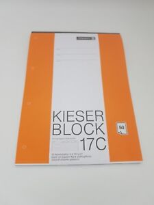 Kieser-Block-17C-liniert-Lineatur-21-Brunnen
