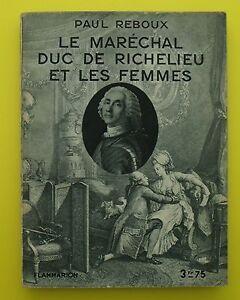 Le-Marechal-Duc-de-Richelieu-et-les-Femmes-Paul-Reboux-1929