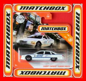 MATCHBOX-2019-CHEVY-CAPRICE-CLASSIC-POLICE-7-100-NEU-amp-OVP