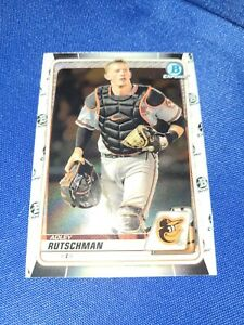 2020 BOWMAN CHROME DRAFT ADLEY RUTSCHMAN (#BD-154) 2019 1ST OVERALL PICK