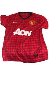 Manchester United team signed shirt 2012/13 Alex Ferguson's Last Season