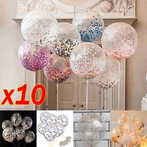 10Pcs-12-034-Confetti-Latex-Balloons-Wedding-Birthday-Party-Baby-Shower-Decoration