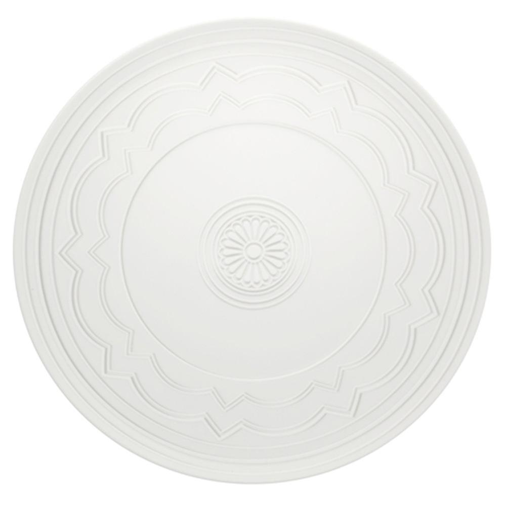 Vista Alegre Porcelain Ornement Chargeur Plaque-Lot de 4