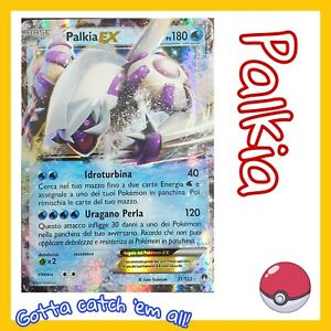 POKEMON-Palkia-EX-31-122-Holo-XY-Turbocrash-ITALIANO