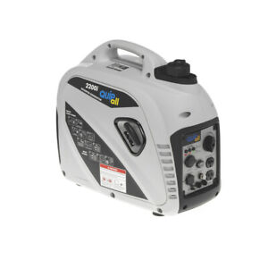 Quipall 2200I Gas Portable Inverter Generator (CARB) New