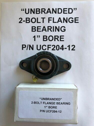 """UCFL204-12 3//4/"""" 2 Bolt Flange Bearing  Type 2 Bolt Flange Bearing"""