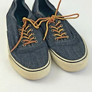 e97c7ff2d5 American Eagle Outfitters Mens Size 8 Denim Dock Boat Casual Shoes ...
