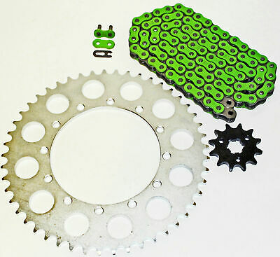 Fits Honda CRF150F 150 F Red Chain and Sprocket 13//52 116L