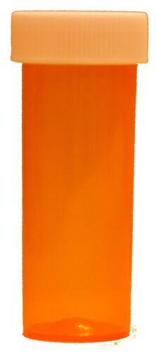 40 NEW Size 6 Dram Safety Small Empty RX Prescription Pill Bottles Craft Storage