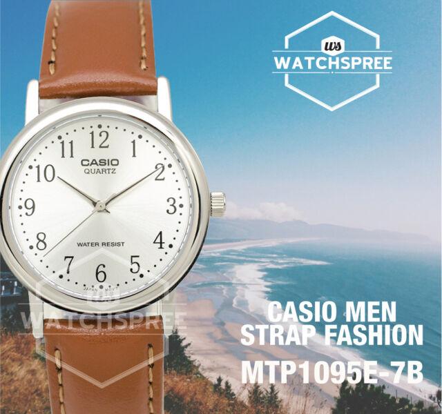 Casio Standard Analog Men's Watch MTP1095E-7B
