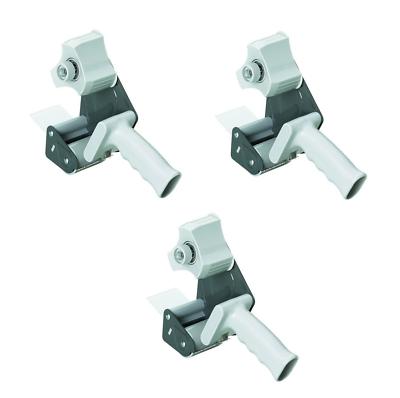 3 X Alco Packbandabroller 4480 Für Rollen Bis 50mm X 66m, Mit Metallrahmen, Grau StraßEnpreis