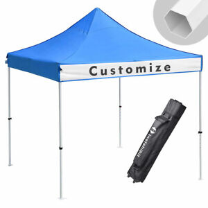 Heavy Duty 10x10 Ez Pop Up Canopy Instant Shade Commercial