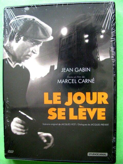 DVD Le jour se lève Film avec Jean Gabin  Jules Berry  Arletty  neuf