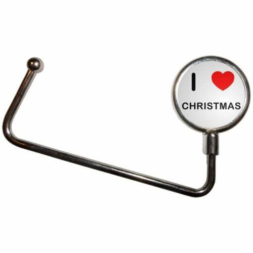 Handbag Table Hook Hanger I Love Christmas