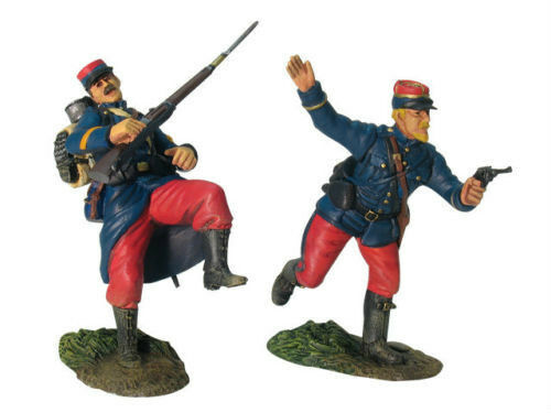 BRITAINS WORLD WAR 1 FRENCH INFANTRY INFANTRY INFANTRY COMMAND SET 000935