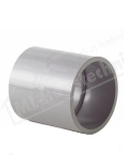 Fitting Muffe GF PVC 20 mm Klebe