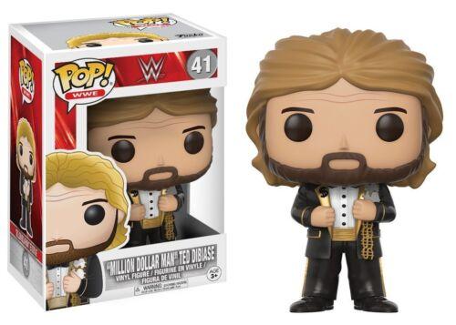 "WWE ~ TED /""MILLION DOLLAR MAN/"" DIBIASE VINYL FIGURE ~ Old School WWF Funko POP"