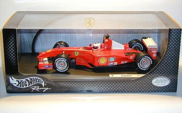 Ferrari F 2001 Rubens Barrichello No.2 Racing Edition 2001 Formula 1 Season 2001