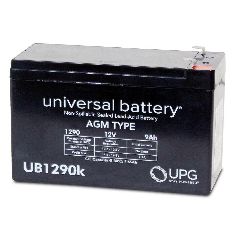 NEW UPG UB1290 12V 9AH SLA Battery Replacement Kaylee Bigfoot Sport Quad