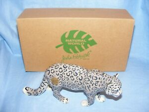 John-Beswick-Snow-Leopard-Natural-World-Series-JBNW5-Brand-New-Boxed