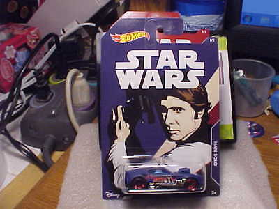 2018 Hot Wheels Star Wars Twinduction Han Solo 1//8