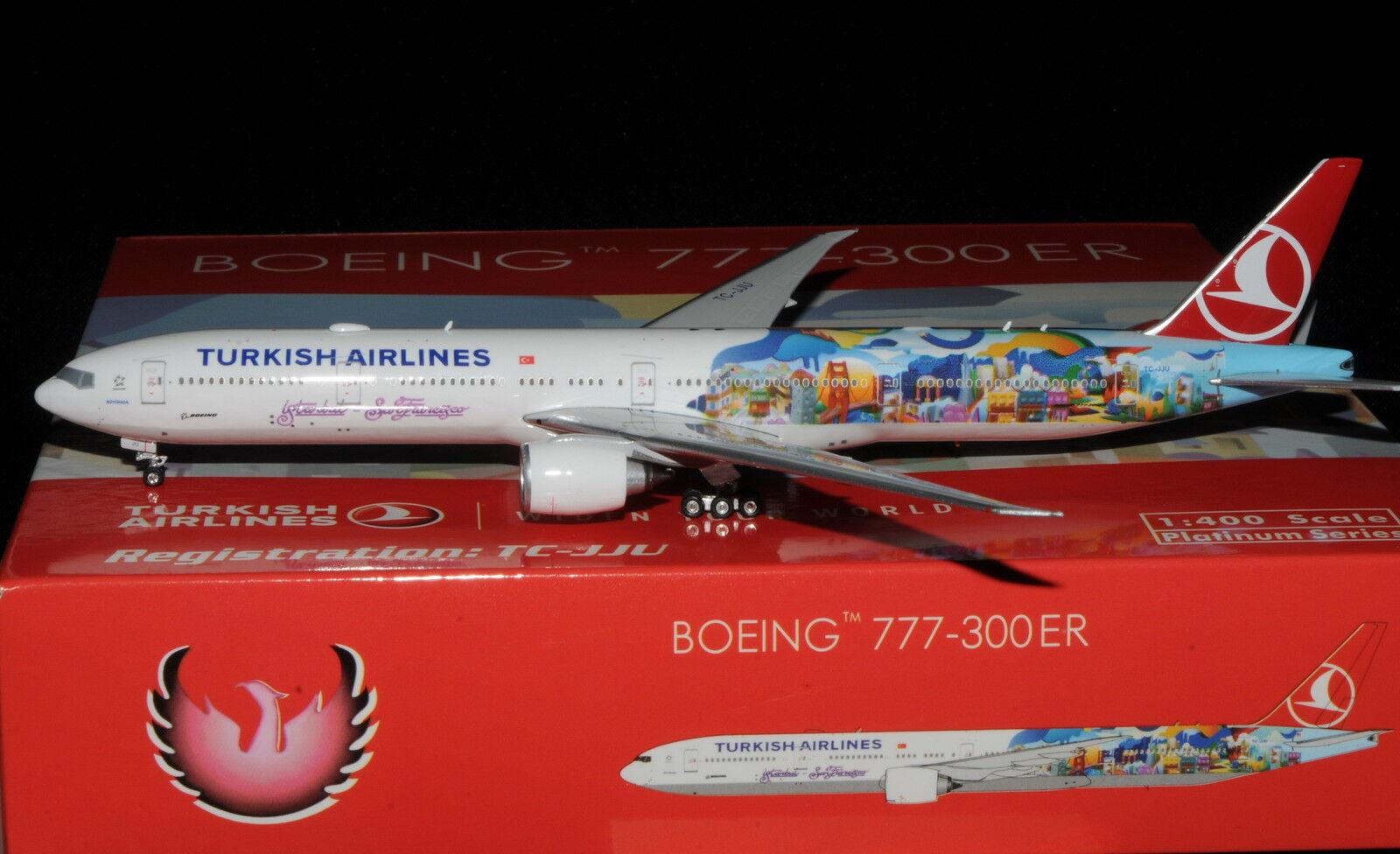 PHOENIX 1 400 B777-300 ER TURKISH AIRLINES TC-JJU   SAN FRANCISCO    | Haltbarkeit