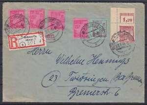 SBZ-Mi-Nr-11-13-17-Bogenecke-MiF-R-Brief-Schwerin-Twistringen-1946