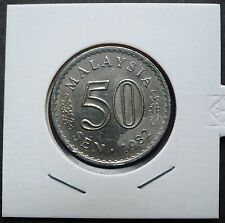 MALAYSIA 1982 PARLIMEN 50 CENTS COIN