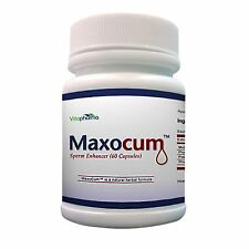 Maxocum Pills Increase Semen Volume 500% More Sperm Massive Load Maxo Cum New