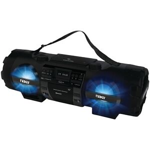 NAXA-NPB-262-CD-MP3-Bass-Reflex-Boom-Box-amp-PA-System-with-Bluetooth-R