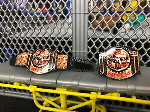 Custom-WWE-ECW-Tag-Team-Championship-Belts-For-Elite-Figures-Toy-Old-School-Vint