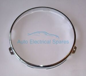 Lucas-54521913-retaining-rim-CHROME-for-Lucas-7-034-HEADLAMP-for-AUSTIN-MORRIS-MG