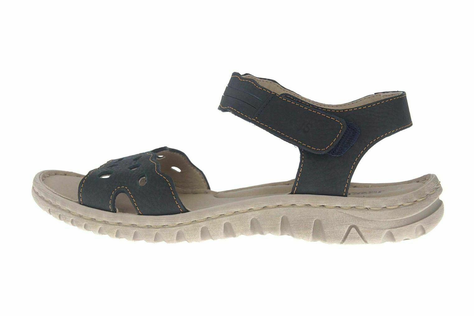 Josef Seibel Lucia 07 Sandals in Plus Sizes bluee 63807 869 500 Large Womens shoes