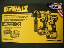 DeWalt DCK299M2 20V Brushless Impact Driver Hammerdrill Cordless Kit Li-Ion NEW