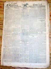 3 1810 newspapers MARRIAGE PROPOSAL & WEDDDING of NAPOLEON BONAPARTE to 2nd wife