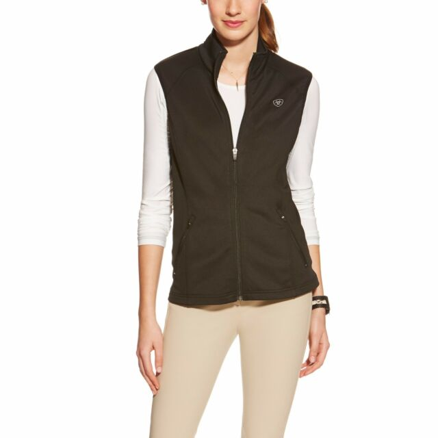 ARIAT - Women's Conquest Fleece Vest  - Black - ( 10015739 ) - New